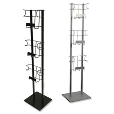 Buddy 3-Pocket Magazine Display Rack
