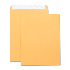 "Catalog envelopes,self seal,plain,9""x12"",250/bx,kraft, sold as 1 box"