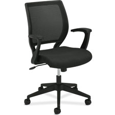 Basyx Mid-Back Fixed Arms Mesh Chair