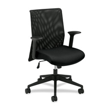Basyx Mid-Back Chair with Mesh Back