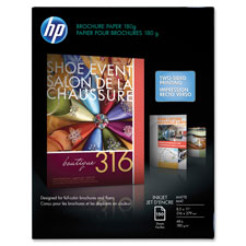 "HP Brochure Paper,GE 103,48lb.,8-1/2""x11"",150Sh/PK,Matte/White at Sears.com"