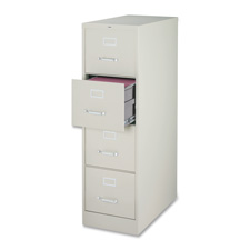 Lorell Commercial-grade 4-Drawer Vertical File