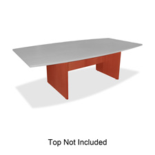 "Conference table base, w/modesty panel, 28""h, cherry, sold as 1 each"