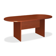 "Oval conference table, top/base, 72""x36""x29-1/2"", cherry, sold as 1 each"