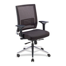 Lorell Executive Mesh Lower Back Swivel Chair