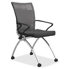 Mayline Mesh High-Back Chairs