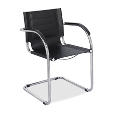 Safco Leather Guest Chair