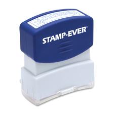 U.S. Stamp & Sign Pre-inked One-Clr Entered Stamp