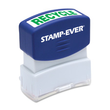 U.S. Stamp & Sign Pre-inked One-Clr Recycled Stamp