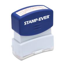 U.S. Stamp & Sign Pre-Inked One-Clr Revised Stamp