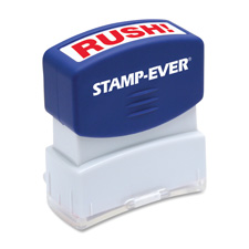 U.S. Stamp & Sign Pre-Inked One-Clr Rush! Stamp