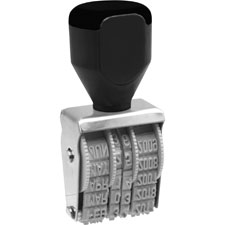U.S. Stamp & Sign Heavy Duty Rubber Date Stamps