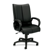 Basyx Executive Leather High-Back Chair