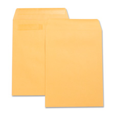 "Press/seal catalog envelopes,plain,9""x12"",100/bx,kraft, sold as 1 box"