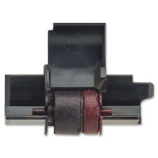 Ink roller, f/calculator, 1/pack, black & red, sold as 1 each