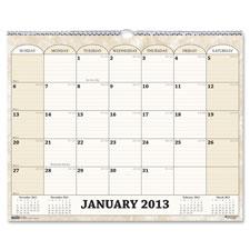 Doolittle Horizontal Wall Calendar