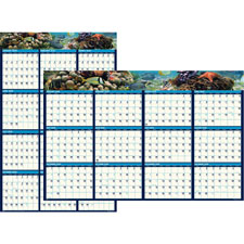 Doolittle Earthscapes Sea Life Laminated Planner