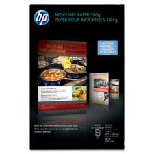 HP Glossy Inkjet Brochure Paper