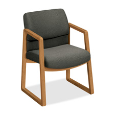 Hon Hardwood Sled-base Guest Chairs