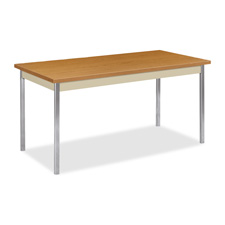 Hon Laminate Top Rectangular Utility Tables
