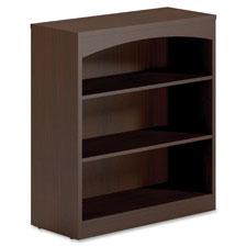 Mayline Brighton Collection Lam. 3-shelf bookcase