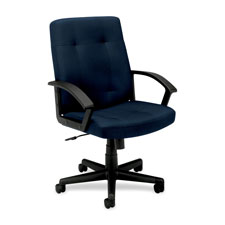 Basyx Executive Pneumatic Mid-back Chairs