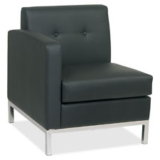 Office Star Wall Street Reception Left Arm Chair