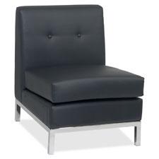 Office Star Wall Street Reception Armless Chair