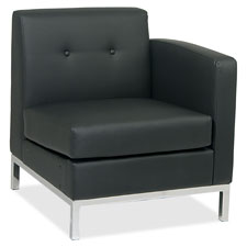 Office Star Wall Street Reception Right Arm Chair