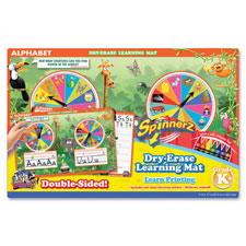 Board Dudes SpinnerZ Dry-erase Learning Mat