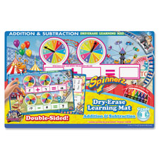 Board Dudes Addition/Subtraction Spinner Mat