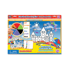 Board Dudes Colors and Shapes Spinner Mat