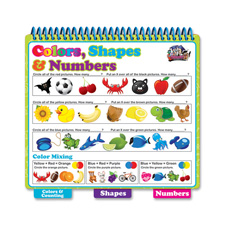 Board Dudes Colors Shapes and Numbers Book