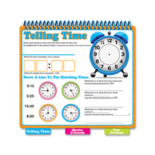 Board Dudes Learn to tell Time Learning Book