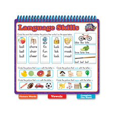 Board Dudes Sight Words Language Skill Book