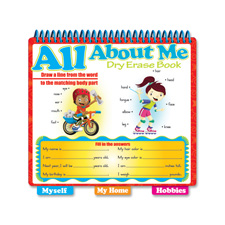 Board Dudes All About Me Learning Book