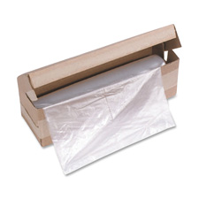 "Shredder bag, f/hsm models, 13""x10""x24"", 100bg/ct, clear, sold as 1 carton"