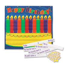 Pacon Birthday Pocket Chart