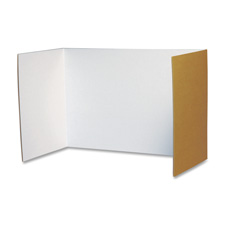"Privacy board, 48""x16"", 4/pk, white, sold as 1 package"