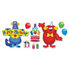 Trend Furry Friends Birthday Fun Bulletin Board St