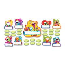 Trend Frog-tastic Jump Starters Bulletin Board Set