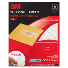 3M Laser Shipping Labels