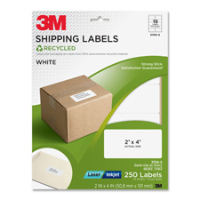 3M Recycled Permanent Shipping Labels