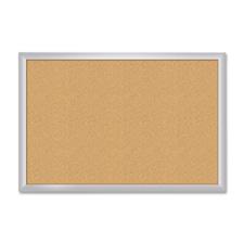 Board Dudes Aluminum Frame Cork Bulletin Board