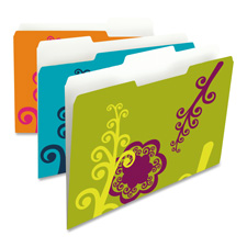 Smead Patterned Fashion Folders