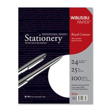 Wausau Professional Series Royal Cotton Stationery