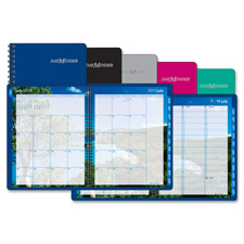 At-A-Glance Iridescent Blue Weekly/Monthly Planner
