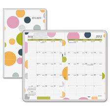 Day Runner 2-Year Bubble Design Pocket Planner