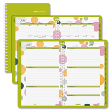 Day Runner Bubble Design Weekly/monthly Planner