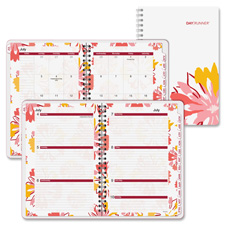 Day Runner Floral Explosion Weekly/Monthly Planner